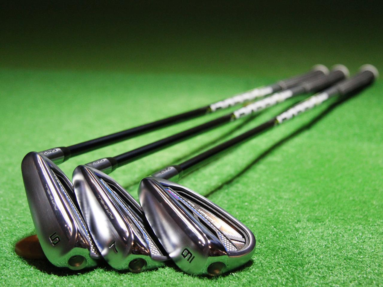 画像: コブラゴルフのワンレングスモデル「キング ラッドスピードワンレングスアイアン」の5、7、9番をプロが試打!