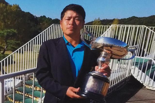 画像: 「関西オープンゴルフ選手権競技」の本戦へ出場する辻田晴也。写真は2020年泉佐野カントリークラブ選手権で優勝したときのもの(撮影提供/泉佐野カントリークラブ)