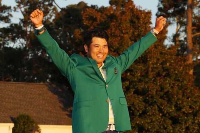 画像: マスターズで勝利を挙げた松山英樹が見せたセカンドショットとは?(写真/GettyImages)