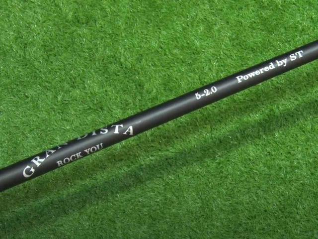 画像: シャフトはグランディスタ「ROCK YOU」。長さは48インチで、フレックスはS~X相当の「2.0」、重量は51グラムとなっている