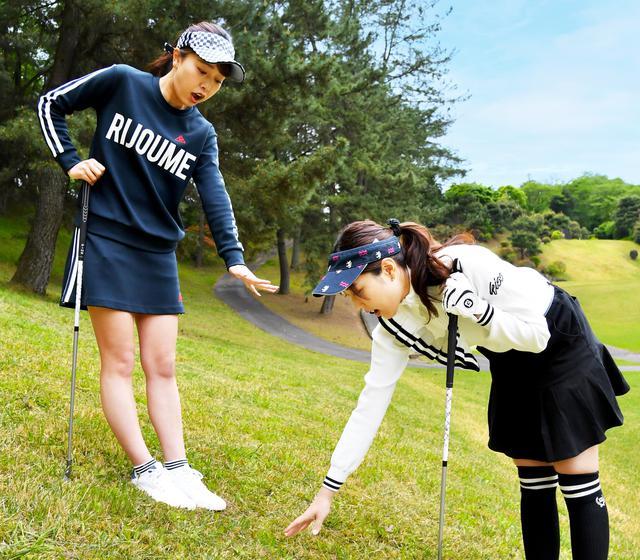 画像: 【ゴルフルールクイズ】球の上部にクラブが当たり、地面にめり込んだ! どうするのが正解?