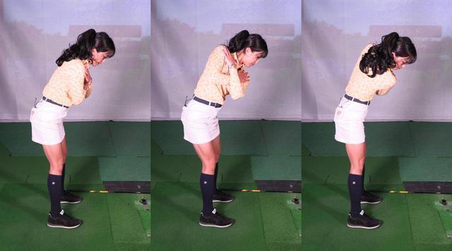 画像: 写真B:両肩を縦方向に回せると、前傾角もキープできる