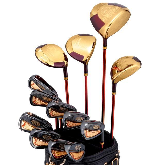 画像: マジェスティゴルフの50周年を記念した超高級モデル「マジェスティサブライム50thアニバーサリー」。6月11日より先行予約受付開始、7月9日より限定発売開始予定だ