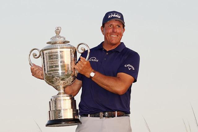 画像: 海外メジャー「全米プロゴルフ選手権」を制したフィル・ミケルソン(写真/Blue Sky Photos)