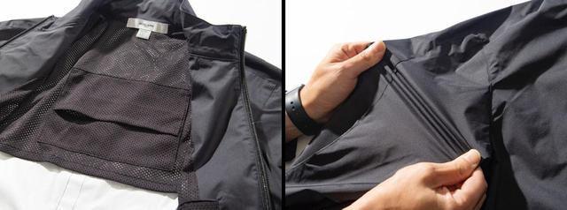 画像1: 着やすさにこだわった、HOSU「撥水ストレッチナイロンブルゾン」
