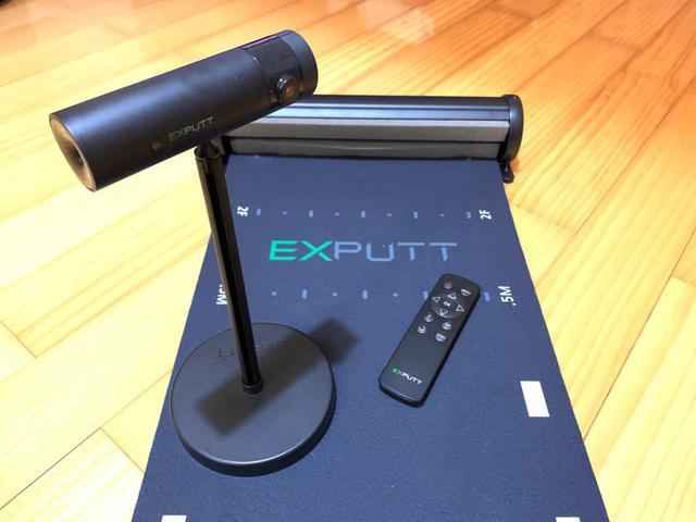 画像: 最新家庭用スクリーンパター練習機「EXPUTT」