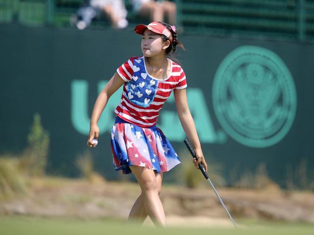 画像: ルーシー・リーの11歳8カ月19日での全米女子オープン最年少出場記録は未だ破られていない(写真は2014年の全米女子オープン 撮影/南しずか)