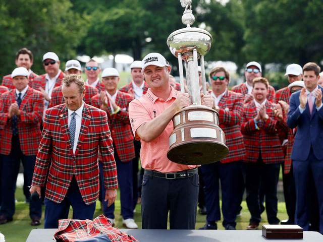 画像: PGAツアー「チャールズシュワブ・チャレンジ」を制したジェイソン・コクラック(写真/Getty Images)