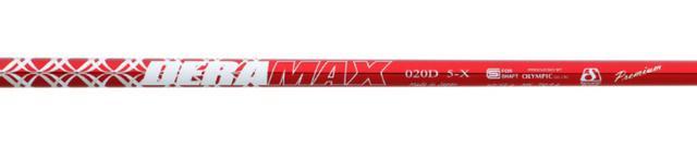 画像: 【シャフト】デラマックス 020プレミアムシリーズ、タイプ:020D-5、フレックス:X、シャフト重量:52g 、キックポイント:中調子