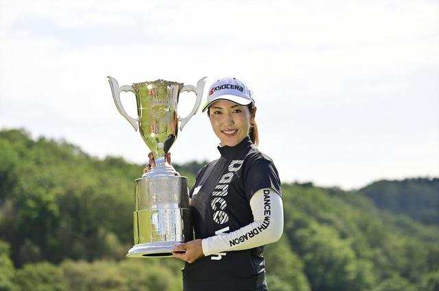 画像: 5年ぶりの通算6勝目を挙げた笠りつ子(写真は2021年のヨネックスレディスゴルフトーナメント 写真/有原裕晶)
