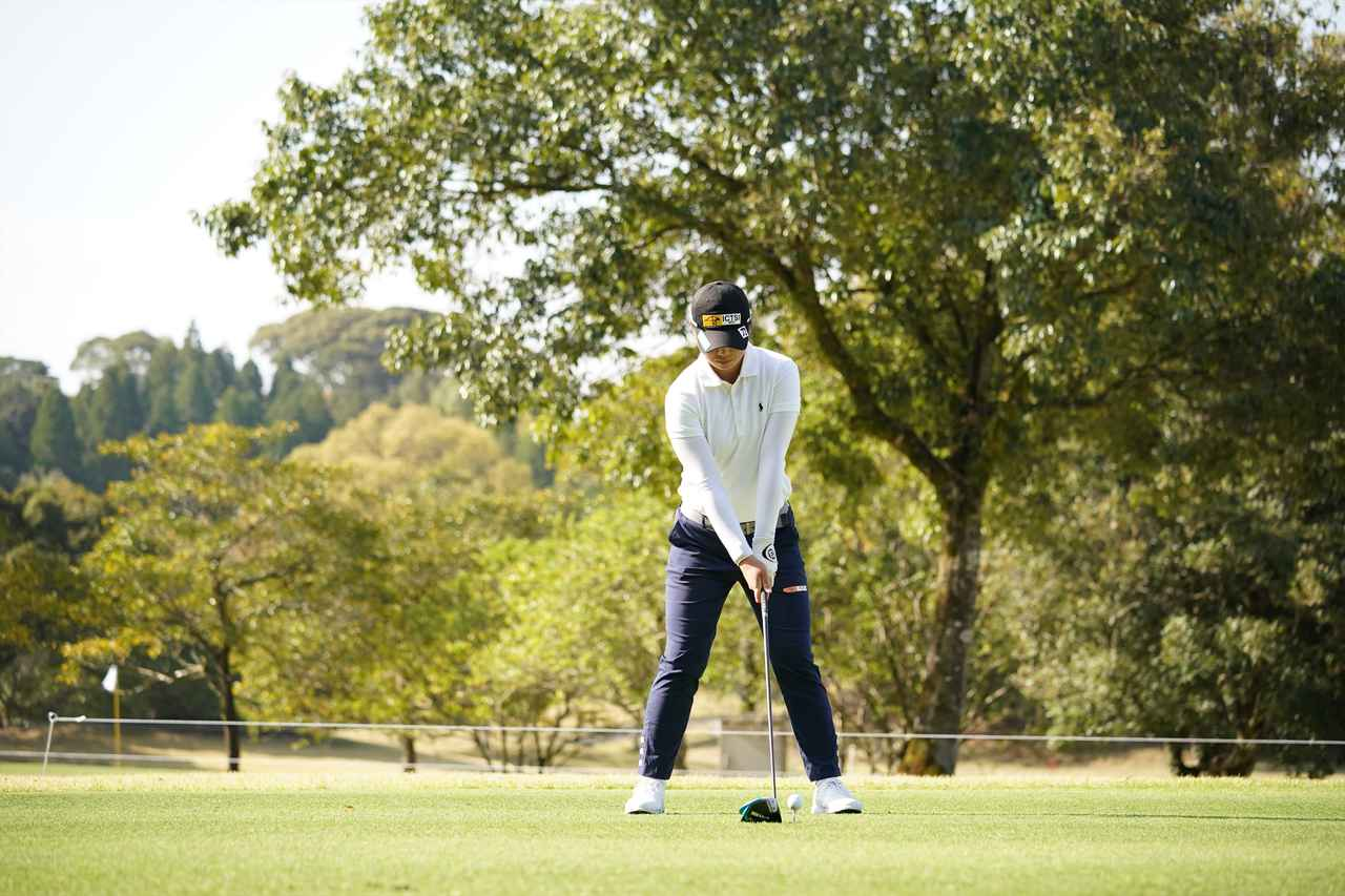 Images : 1番目の画像 - 笹生優花 ドライバー正面連続写真 - みんなのゴルフダイジェスト