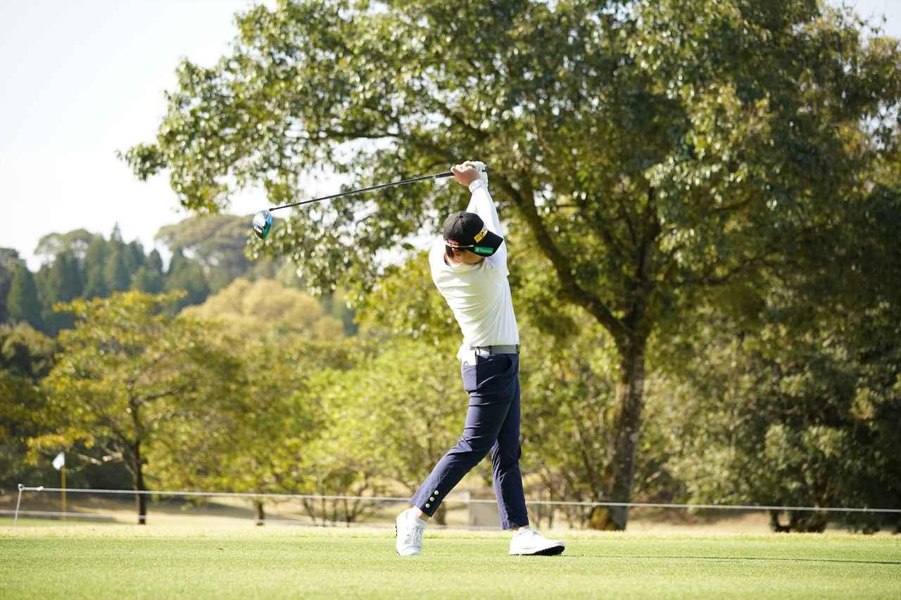 Images : 11番目の画像 - 笹生優花 ドライバー正面連続写真 - みんなのゴルフダイジェスト