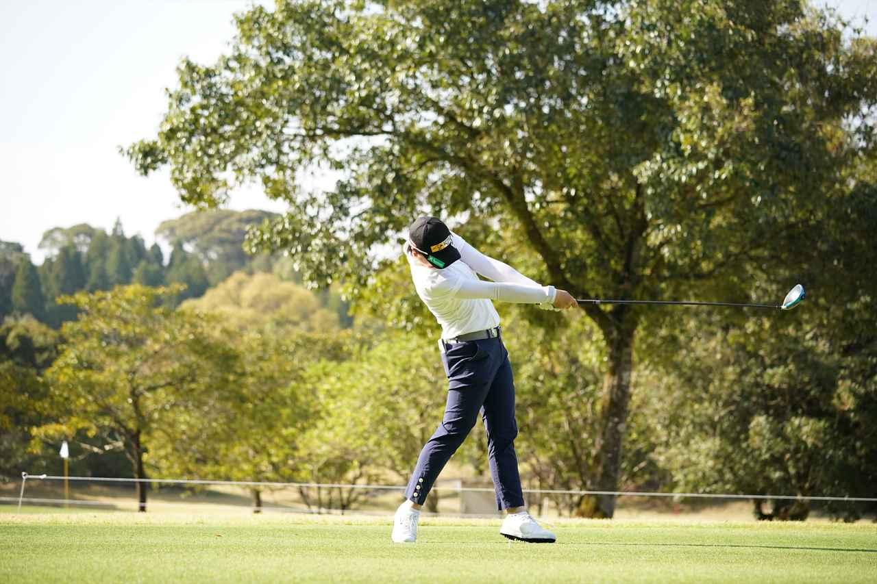 Images : 9番目の画像 - 笹生優花 ドライバー正面連続写真 - みんなのゴルフダイジェスト