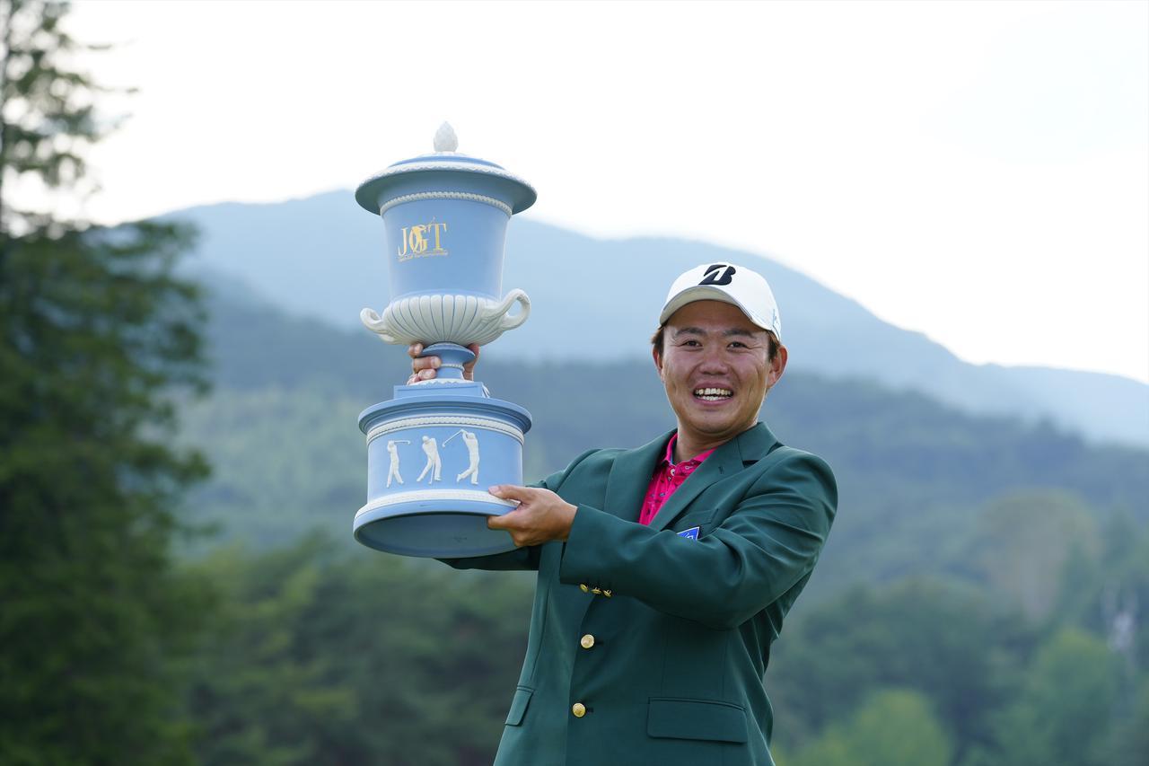 画像: 日本ゴルフツアー選手権で初優勝を挙げた木下稜介(写真/岡沢裕行)