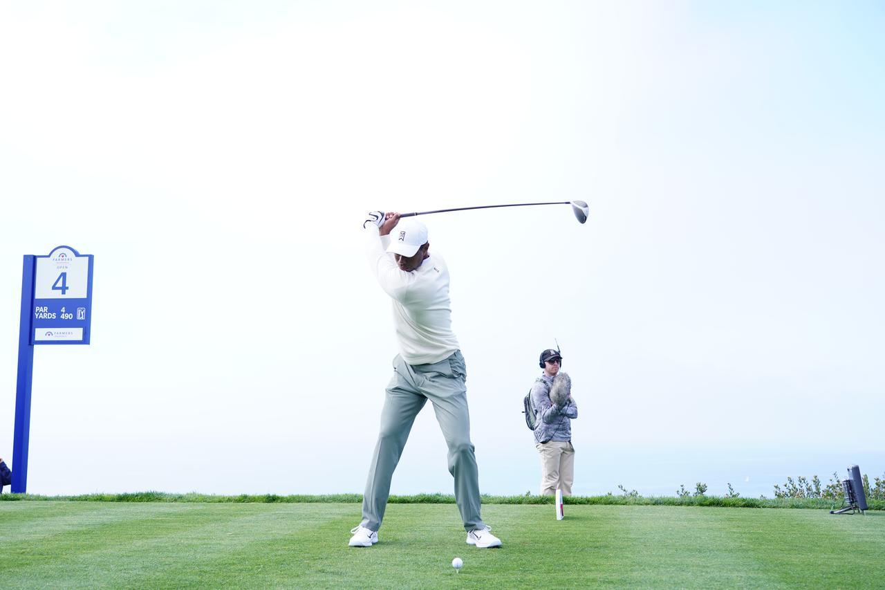 Images : 11番目の画像 - 正面から見たタイガー・ウッズのドライバースウィング連続写真 - みんなのゴルフダイジェスト