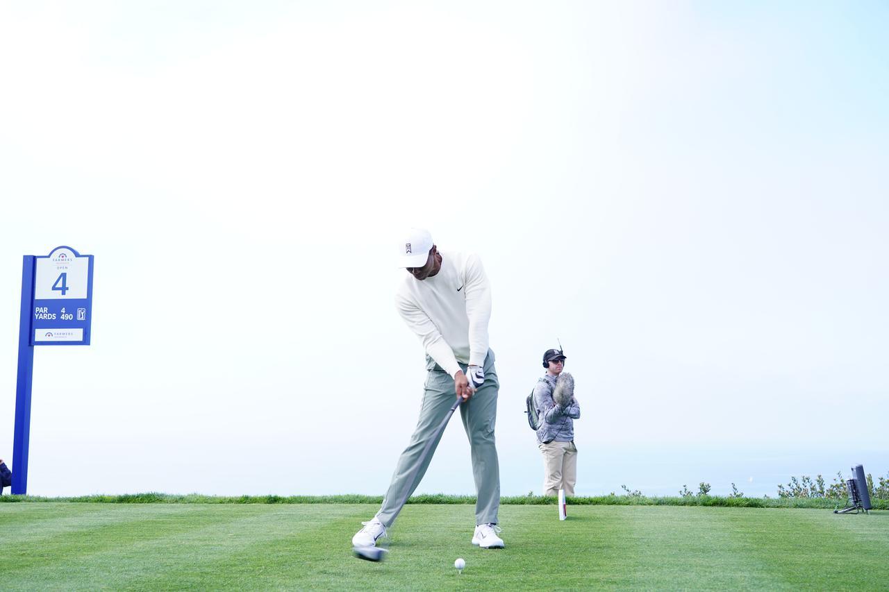 Images : 16番目の画像 - 正面から見たタイガー・ウッズのドライバースウィング連続写真 - みんなのゴルフダイジェスト