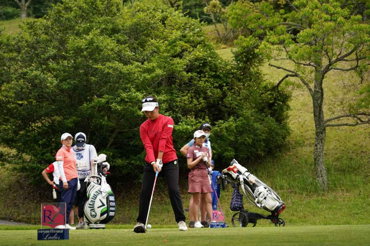 Images : 1番目の画像 - 青木瀬令奈のドライバー連続写真 - みんなのゴルフダイジェスト