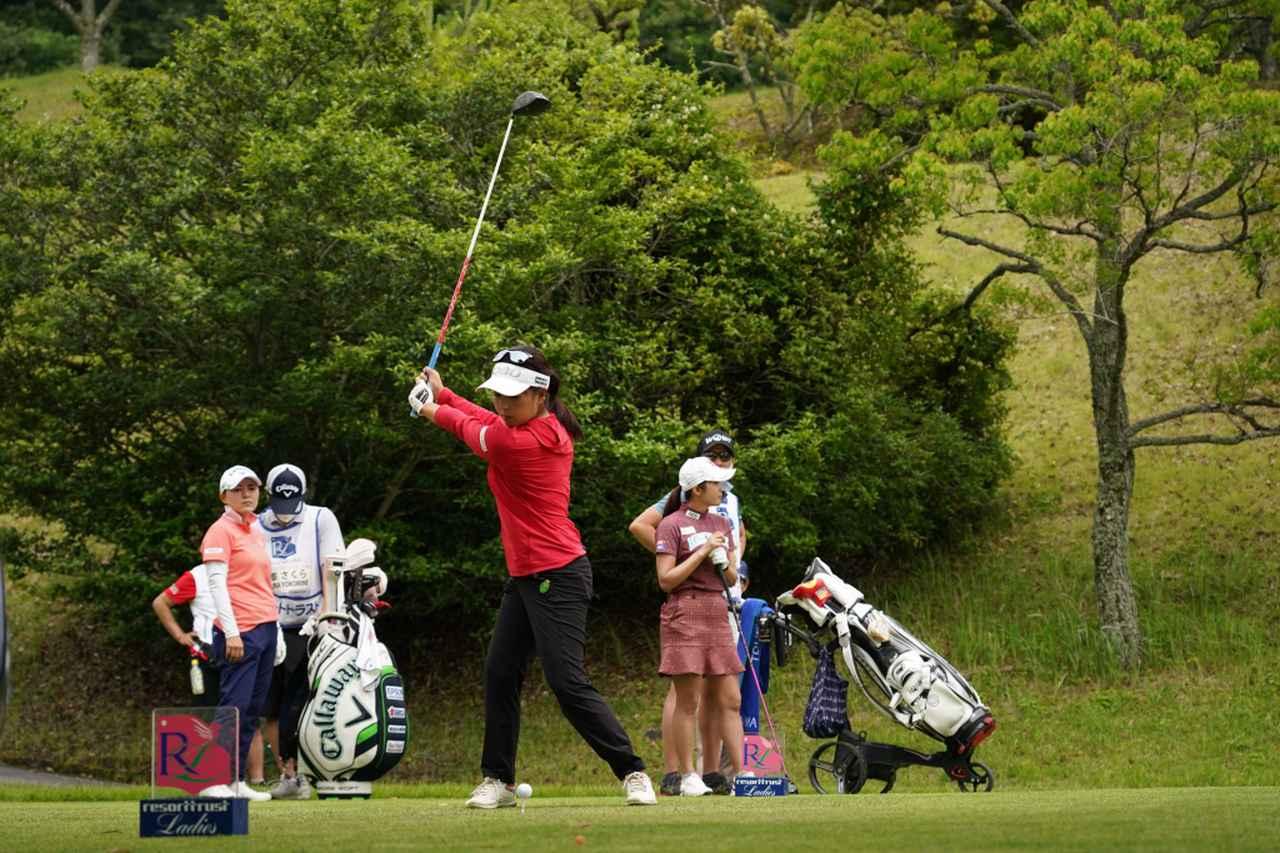 Images : 6番目の画像 - 青木瀬令奈のドライバー連続写真 - みんなのゴルフダイジェスト