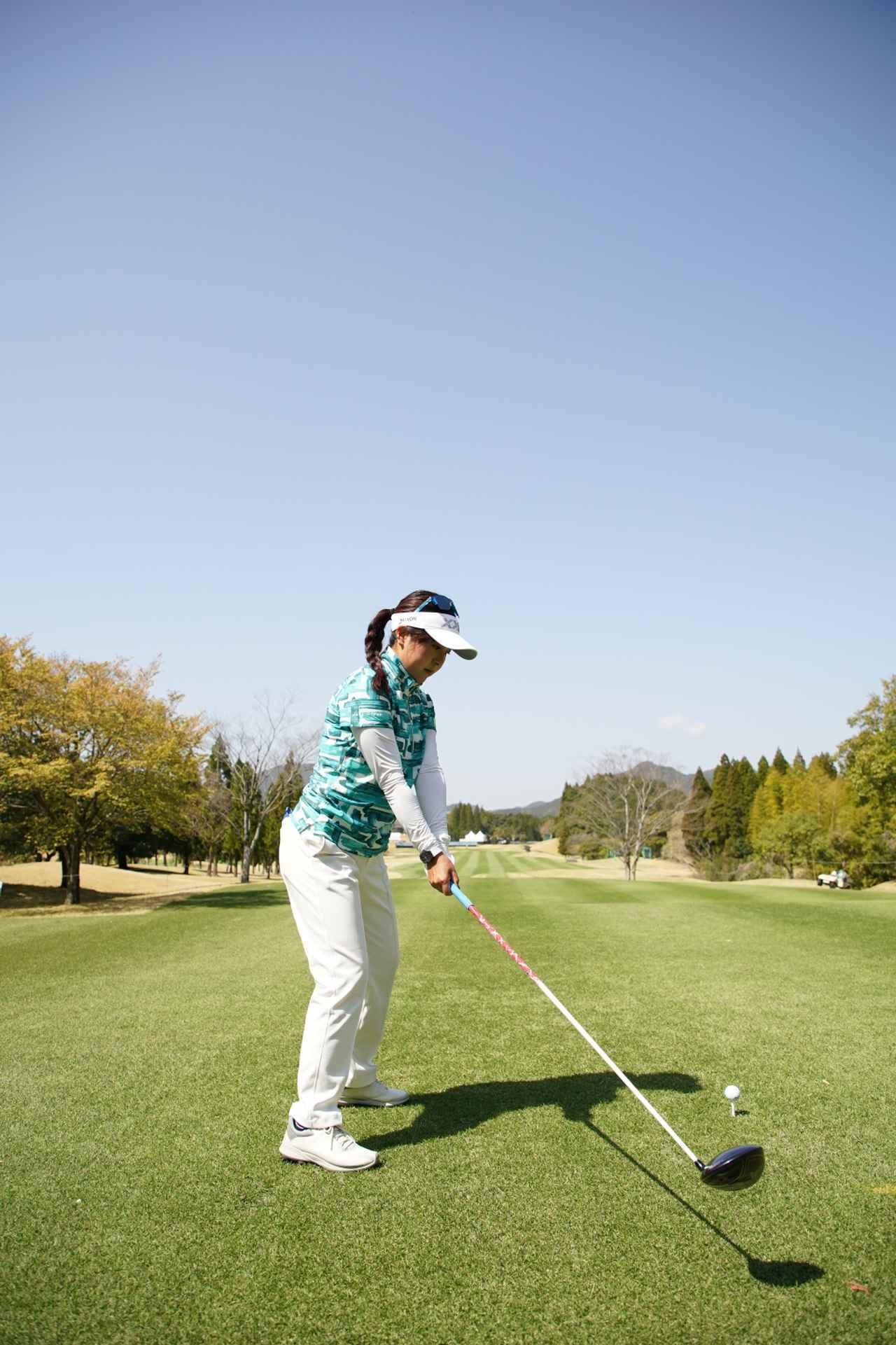 Images : 3番目の画像 - 青木瀬令奈のドライバー連続写真(後方) - みんなのゴルフダイジェスト