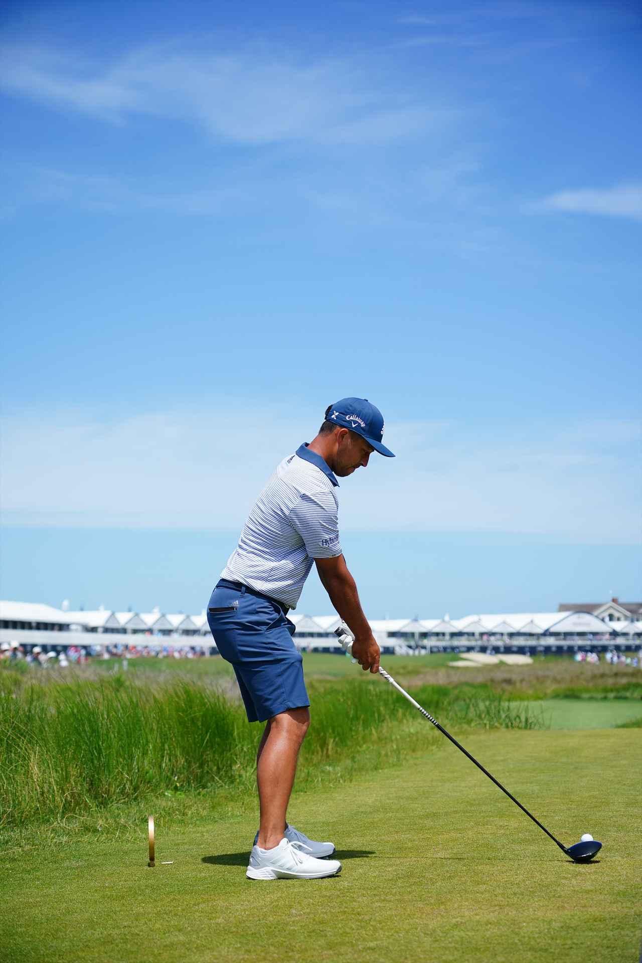 Images : 1番目の画像 - ザンダー・シャウフェレ ドライバー後方連続写真 - みんなのゴルフダイジェスト