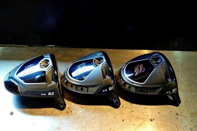 画像: ブリヂストンゴルフの新モデルは3つのモデルがラインナップ(左からB2、B1、B-Limited B1)