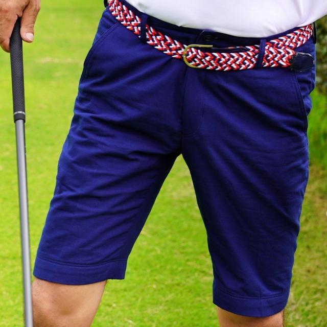 画像: New!【名門コースの夏ゴルフにも】履くタオル ゴルフ用ハーフパンツ ゴルフダイジェスト公式通販サイト「ゴルフポケット」