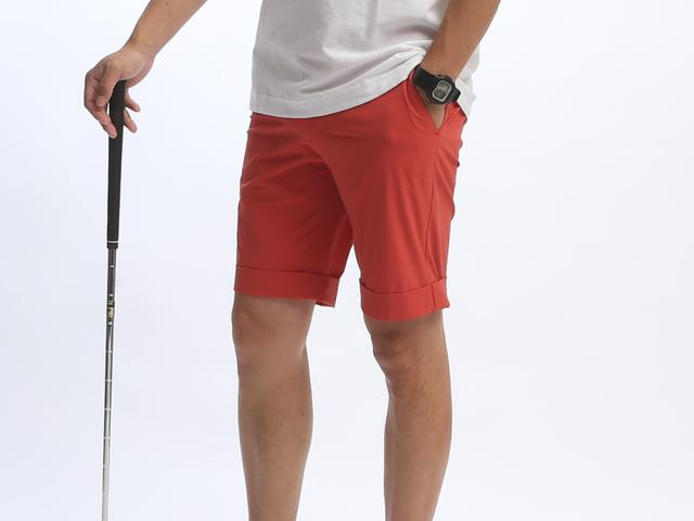 画像2: 軽涼!お洒落でラクな「NUMBER Mゴルフハーフパンツ」