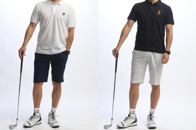 画像4: 名門コースの夏ゴルフにも!「履くタオル ゴルフ用ハーフパンツ」