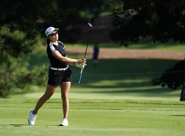 画像: KPMG全米女子オープンの初日を4オーバー93位タイで終えた渋野日向子(写真は2021年のKPMG全米女子プロゴルフ選手権 photo/KJR)