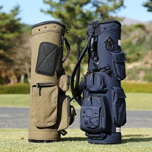 画像: 再入荷!【伝統ある素材】BRITISH MILLERAIN素材キャディバック Lahella golf ゴルフダイジェスト公式通販サイト「ゴルフポケット」
