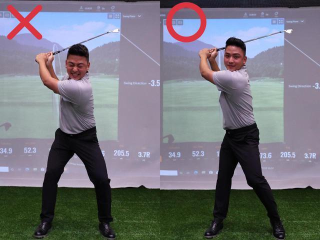 画像: どっしり構えることで起こりやすい捻転不足を解消するためにヒールアップを取り入れてみては?