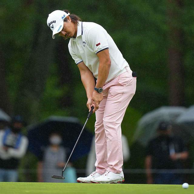 画像: 日本プロゴルフ選手権で33インチのパターを使用していた石川遼(写真は日本プロゴルフ選手権 撮影/姉崎正)