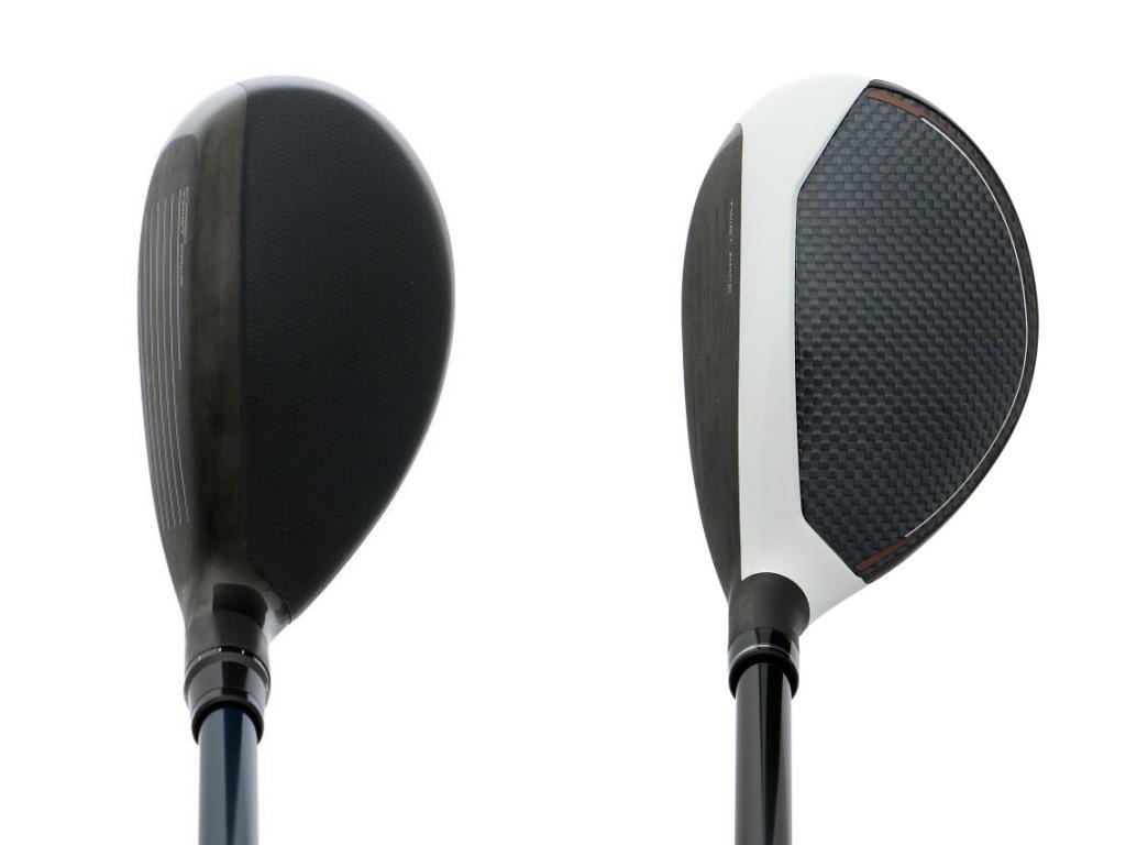 画像: テーラーメイドSIM2レスキュー(左)は操作型UTで、SIMグローレ(右)は安定型UT