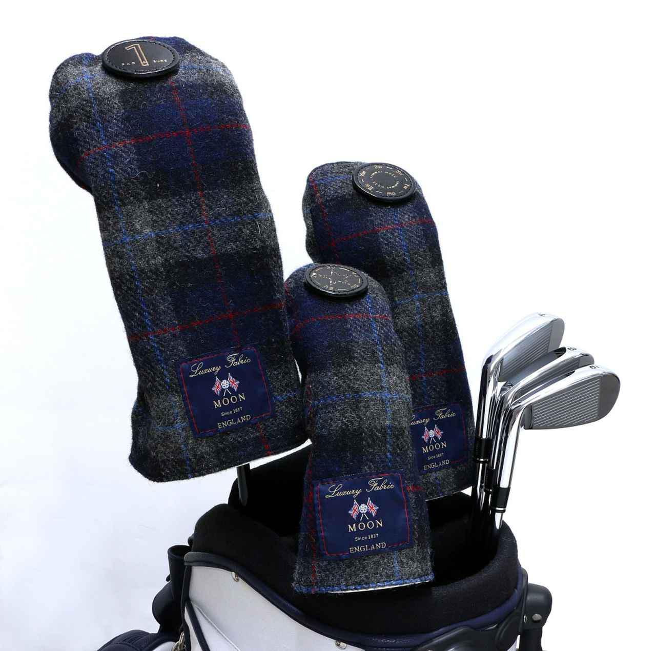 画像1: lahella golf 両A面の リバーシブルヘッドカバー