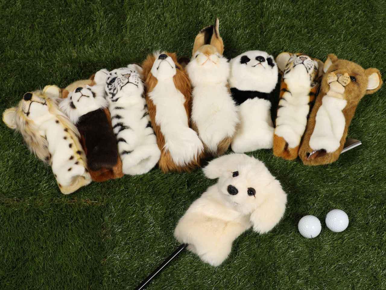 画像7: ゴルフの新しい相棒に! HANSA アニマルヘッドカバー DR用・FW用・UT用
