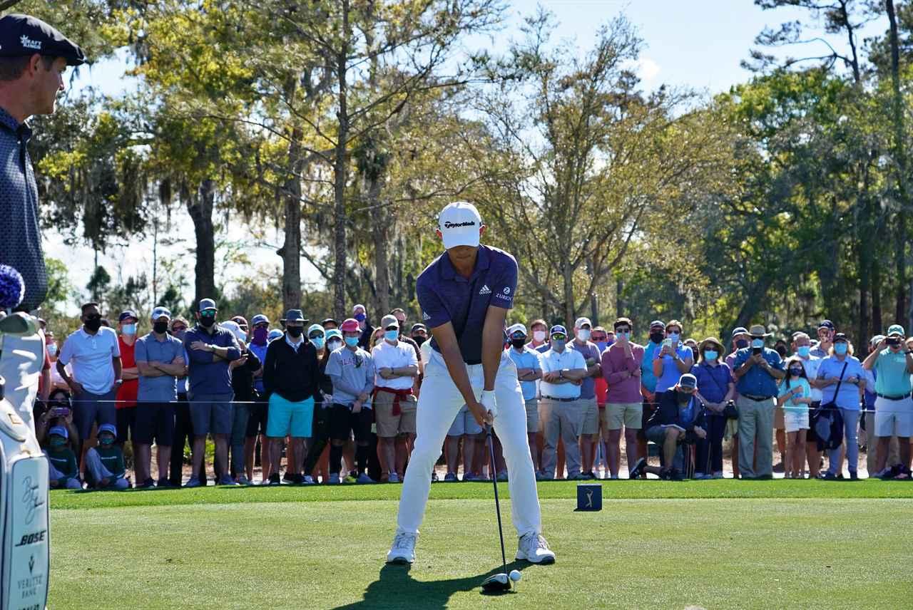 Images : 1番目の画像 - コリン・モリカワ ドライバー正面連続写真 - みんなのゴルフダイジェスト
