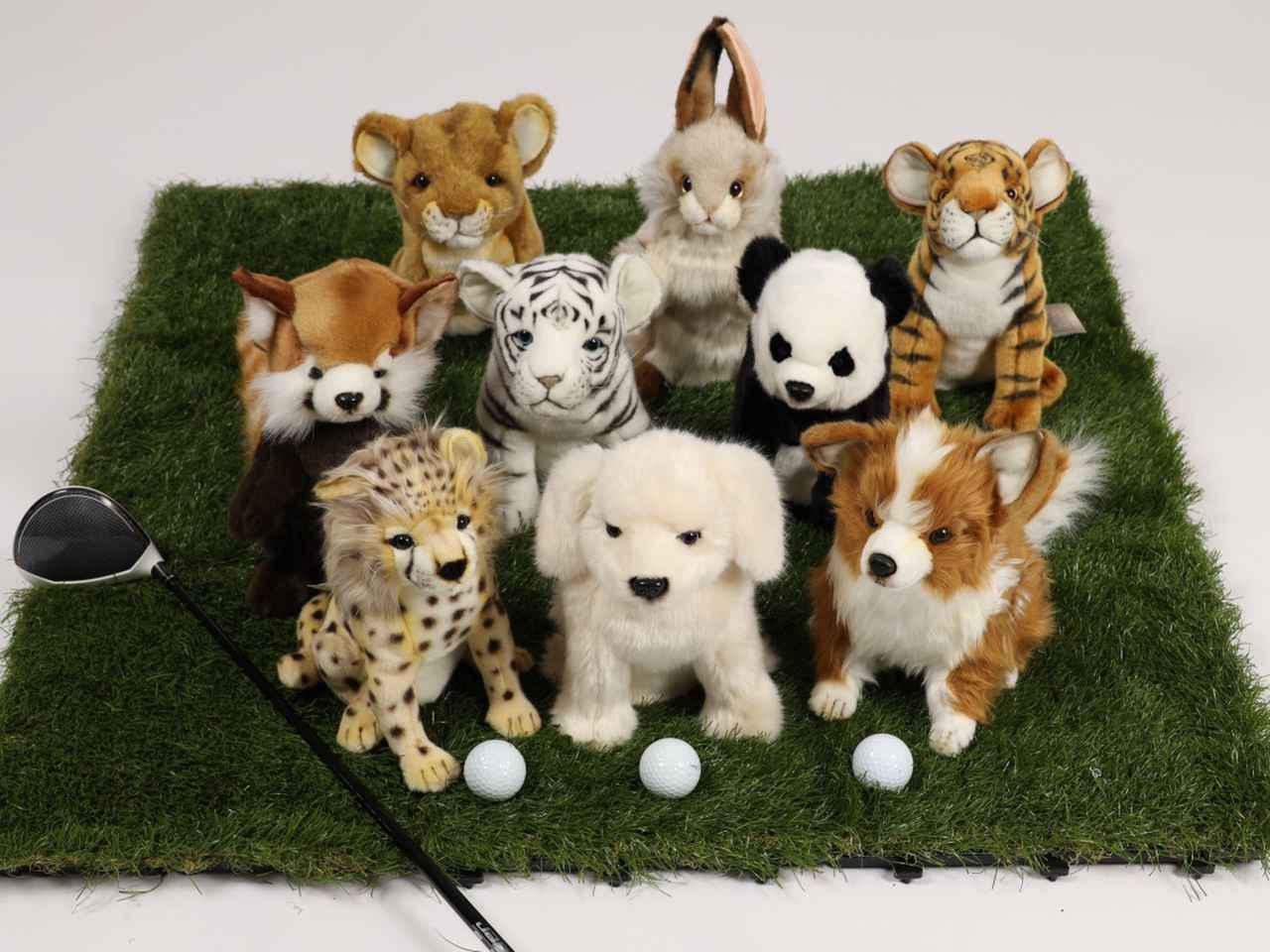 画像4: ゴルフの新しい相棒に! HANSA アニマルヘッドカバー DR用・FW用・UT用