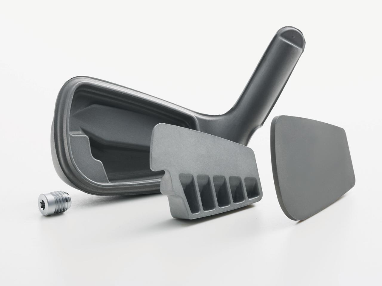 画像: i59の内部設計のイメージ。カーボンスチールのボディの内部にアルミ素材のインサートを搭載している