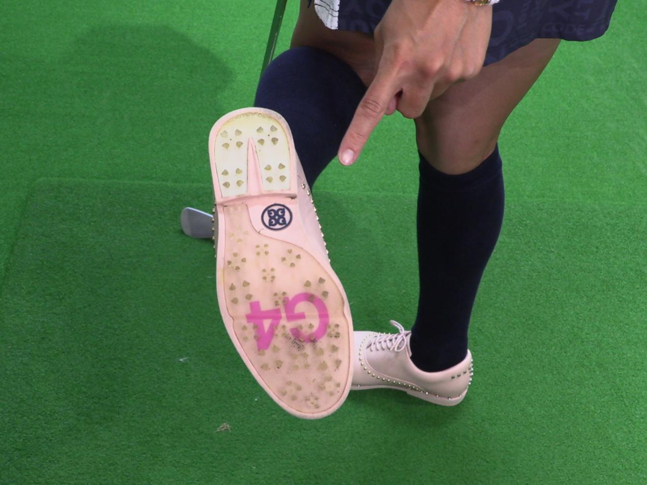 画像: 小澤のお気に入りのシューズブランドはロサンゼルス発の「G4」だという