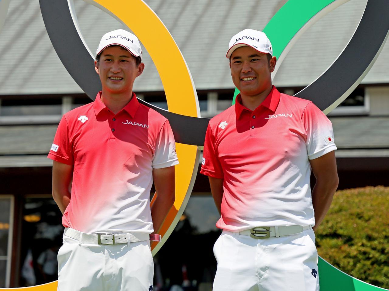 画像: オリンピック男子ゴルフに日本代表として出場する松山英樹(右)と星野陸也(左)(写真/Getty Images)