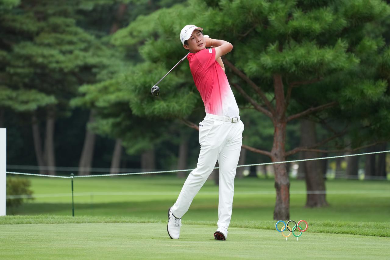 画像: オリンピック男子ゴルフの初日を4バーディ2ボギー1ダブルボギーのイーブンパー暫定47位タイで終えた星野陸也
