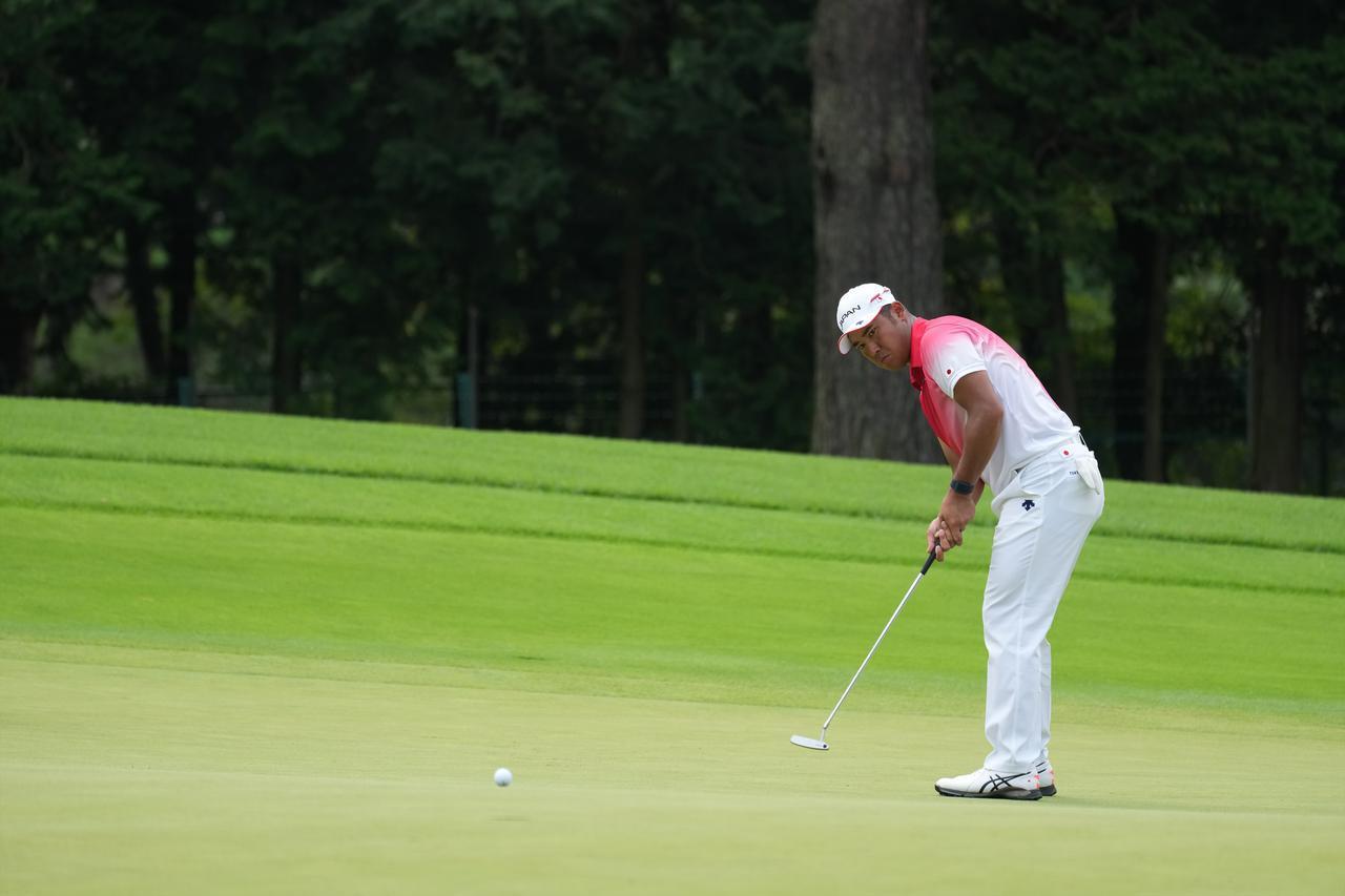 画像: オリンピック男子ゴルフの初日を4バーディ2ボギーの2アンダー暫定19位タイで終えた松山英樹