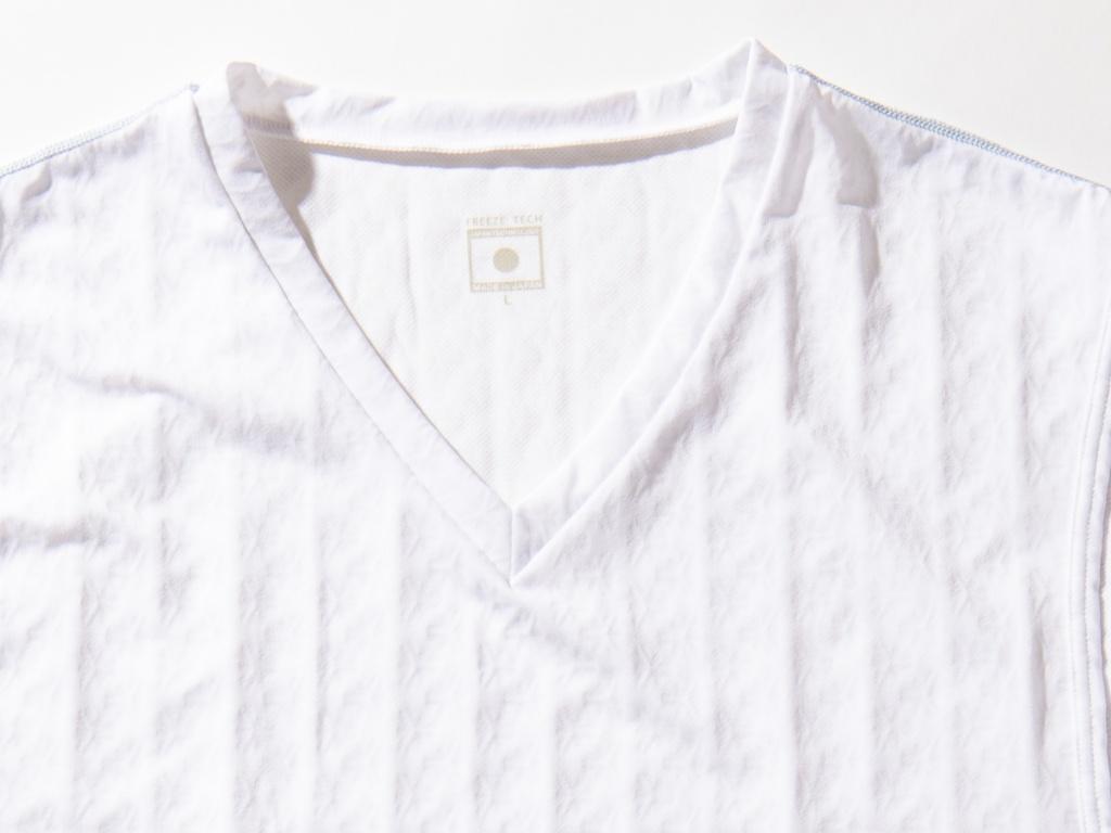 画像2: 氷撃シリーズ【4】ノースリーブ Vネックシャツ