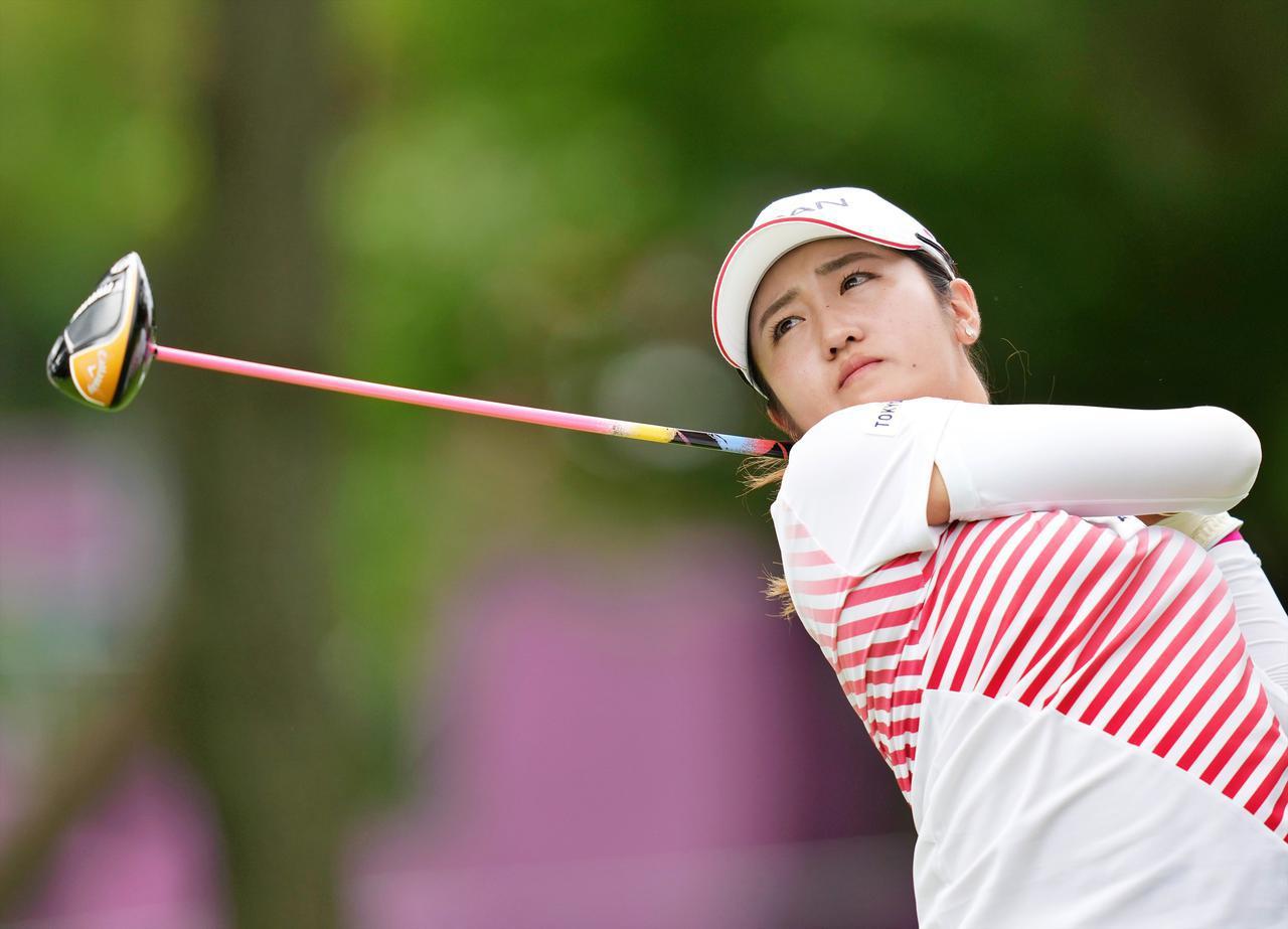 画像: 東京オリンピック女子ゴルフ競技において、世界ランク1位のネリー・コルダに次いで銀メダルを獲得した稲見萌寧(撮影/服部謙二郎)