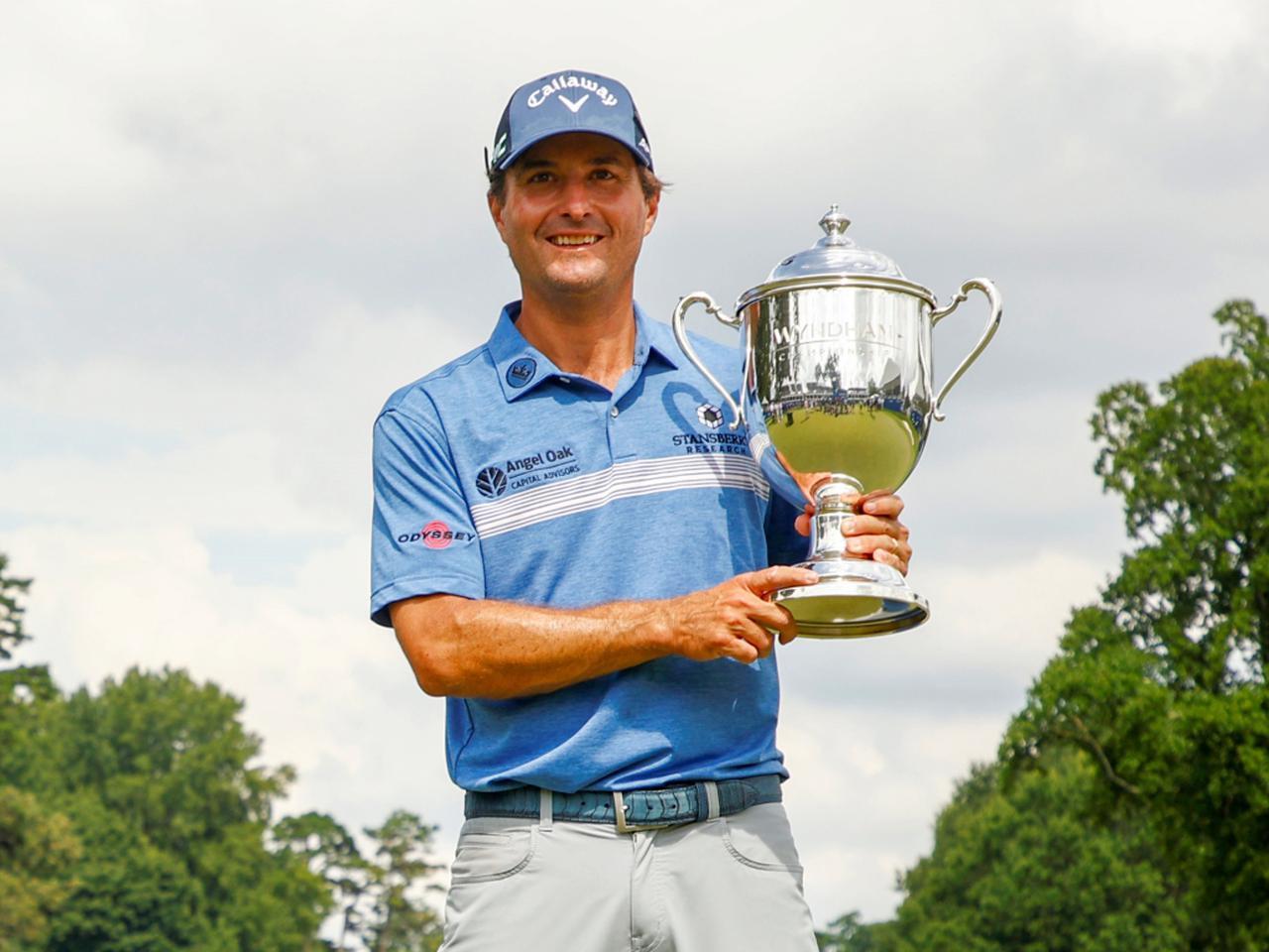 画像: PGAツアー「ウィンダム選手権」を制したケビン・キスナー(写真/Getty Images)