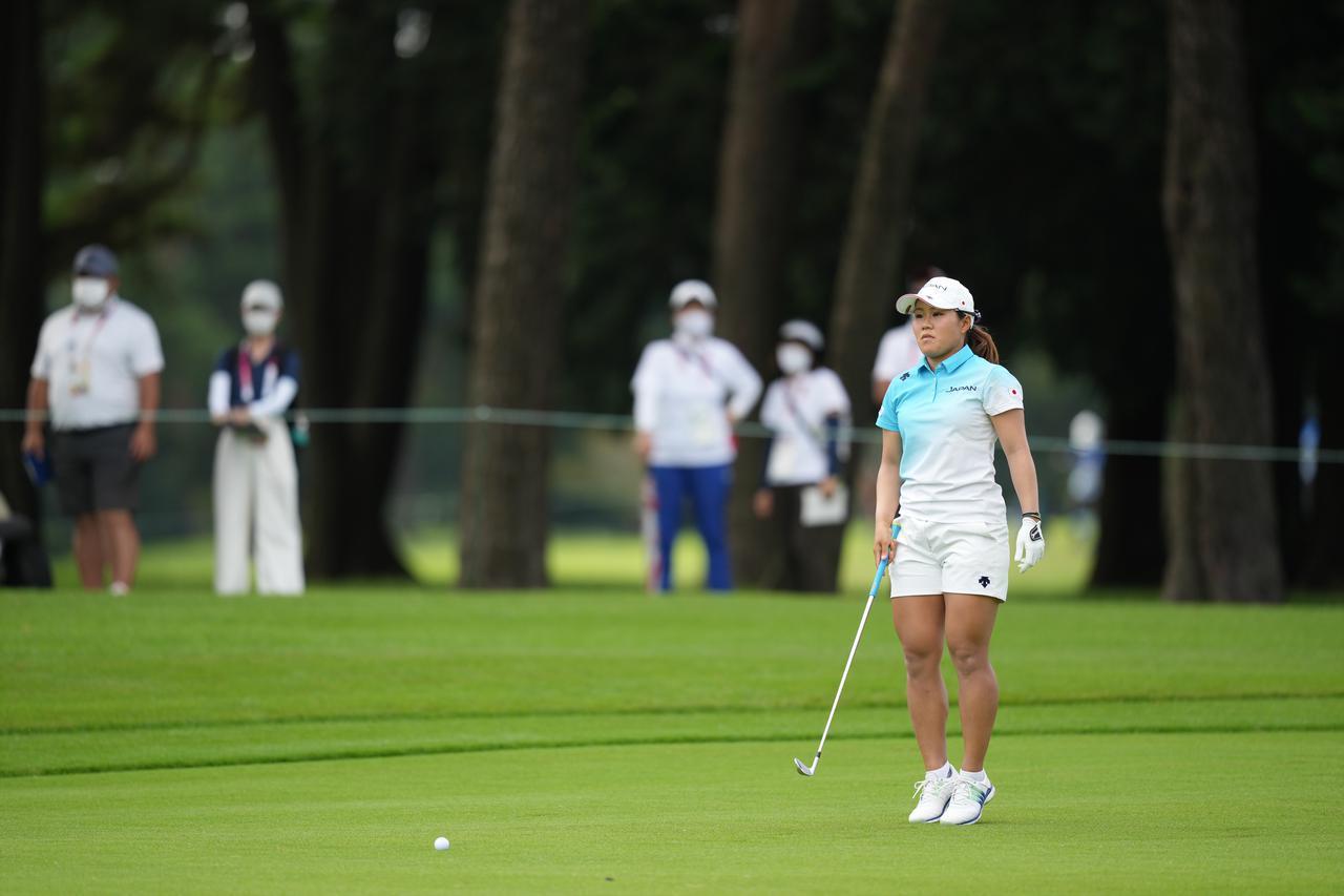 画像: 東京オリンピック女子ゴルフを9位で終えた畑岡奈紗(写真は2021年の東京オリンピックゴルフ女子)