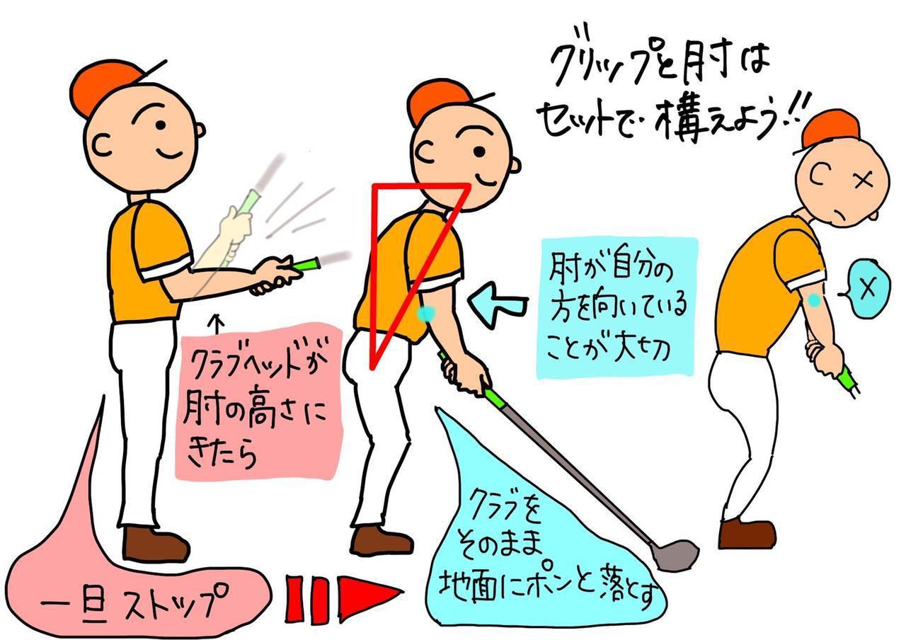 画像: アドレス時の「ひじの向き」に気を付けてる? 覚えておきたい、正しいスウィングを導く構え方 - みんなのゴルフダイジェスト