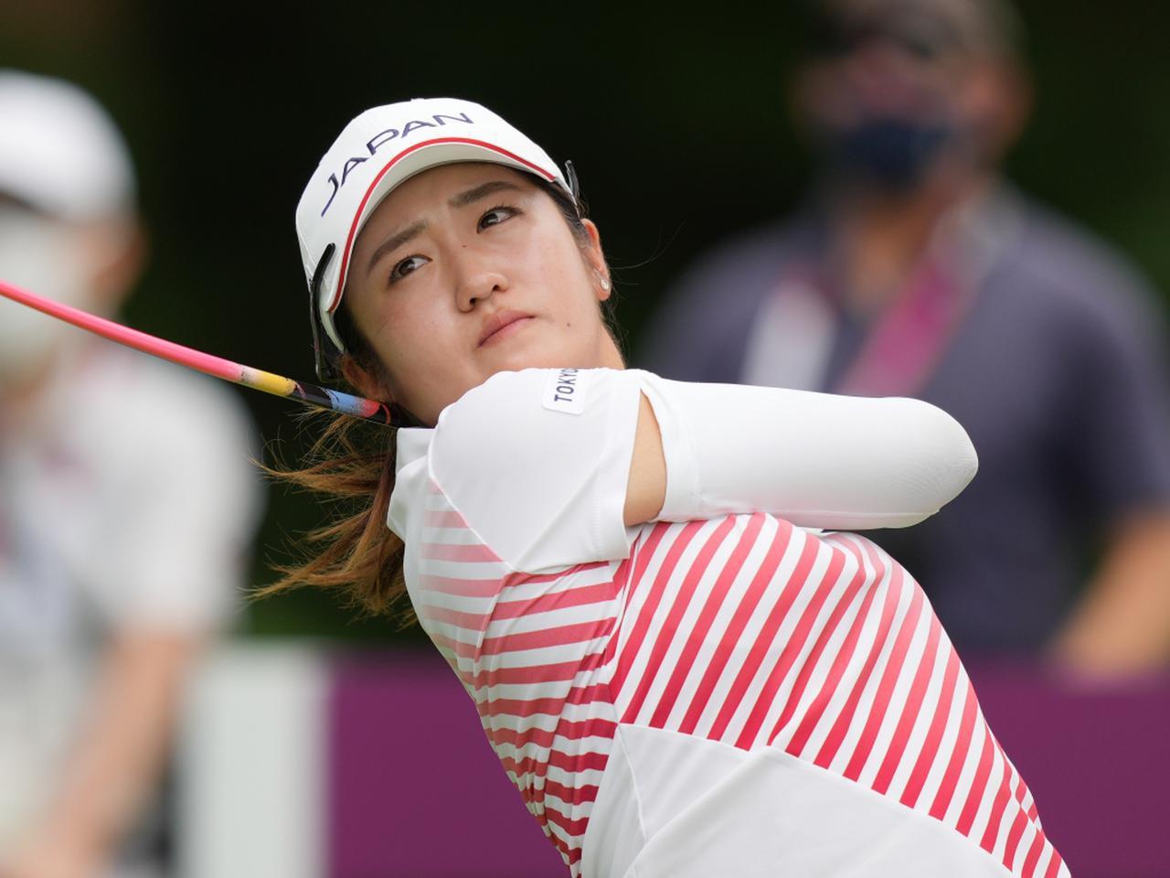 画像: 東京オリンピックで銀メダルを獲得した稲見萌寧(写真は東京オリンピック 撮影/服部謙二郎)