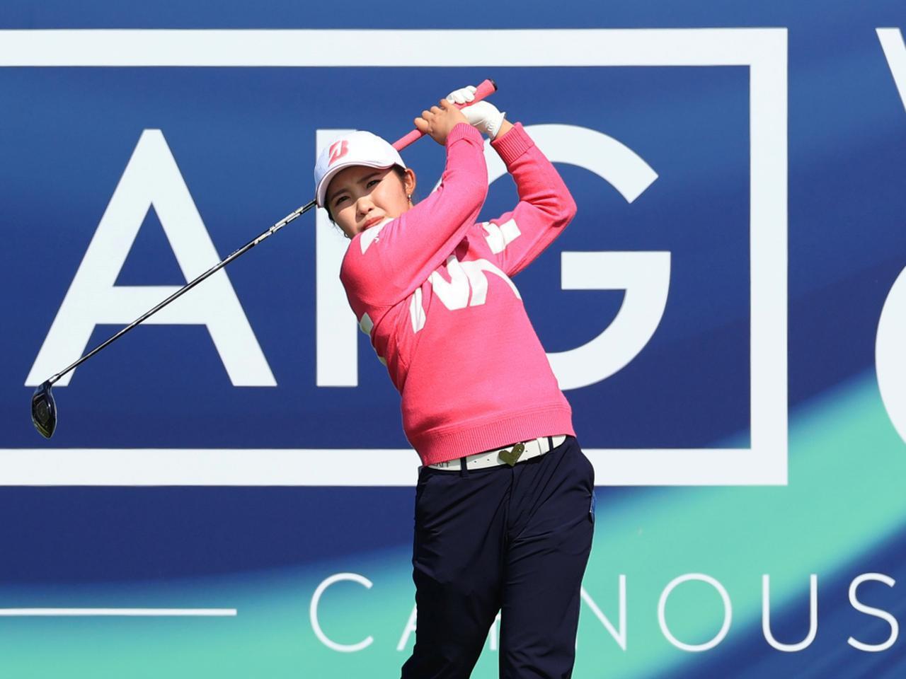 画像: 海外メジャー「AIG女子オープン」で日本勢最上位となるトータル5アンダー20位タイでフィニッシュした古江彩佳(写真/Getty Imges)