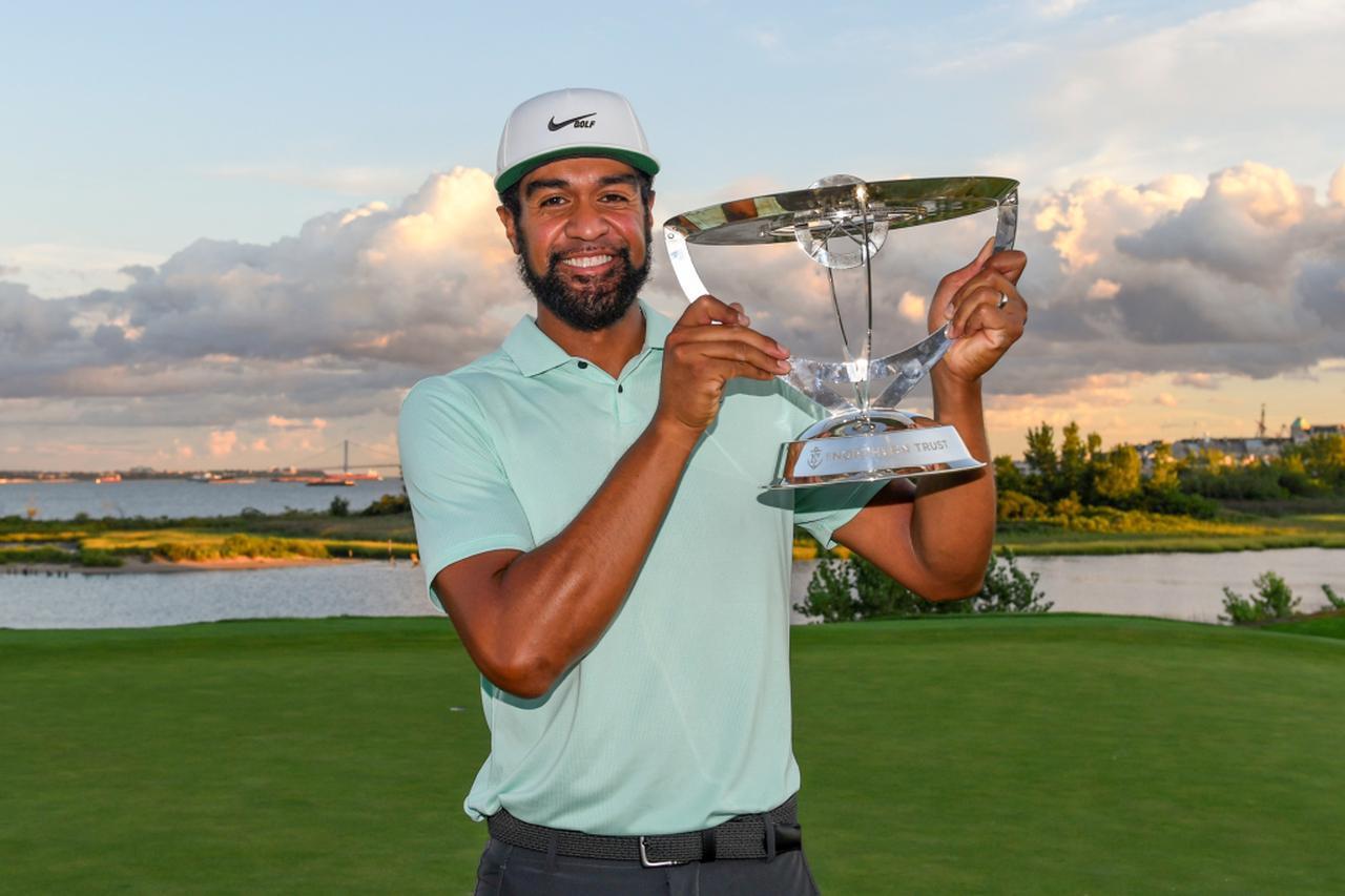 画像: PGAツアープレーオフ第1戦「ノーザントラスト」を制したトニー・フィナウ(写真/Getty Images)